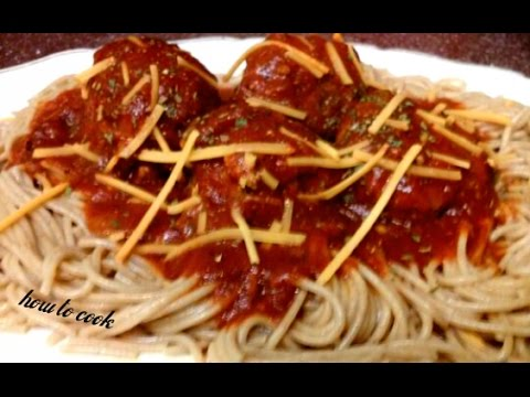 HOW TO MAKE JAMAICAN MEATBALL AND SPRAGETTI 2015