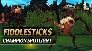 FIDDLESTICKS REWORK CHAMPION SPOTLIGHT - League of Legends