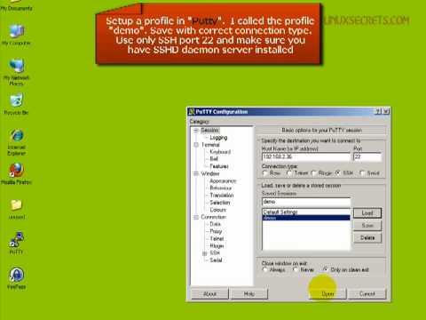 Linux Secrets Tutorial - Secure Linux/UNIX access with PuTTY and OpenSSH