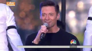 Hugh Jackman performs 'The Greatest Show' live