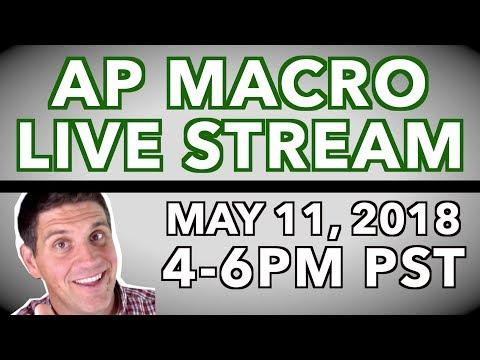 AP Macroeconomics Review 2018- LIVE Stream