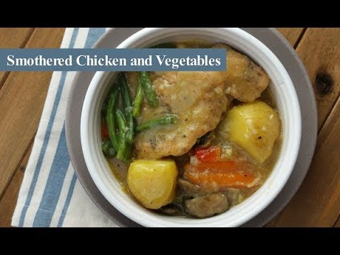 Smothered Chicken with Vegetables ~  Cosori Multi-Cooker ~ Amy Learns to Cook