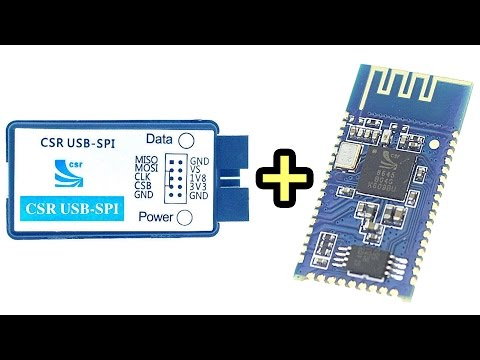 How to Rename a CSR8645 Bluetooth Module