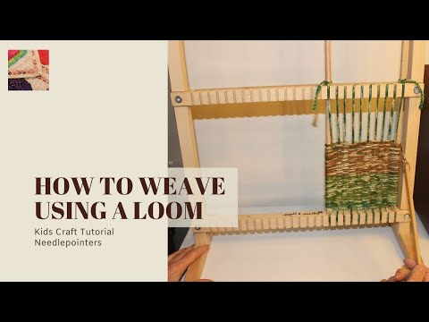 How to Weave Using a Loom