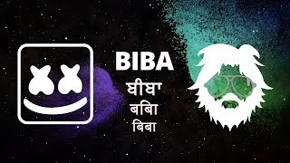 Marshmello x Pritam - BIBA feat. Shirley Setia (Official Lyric Video)