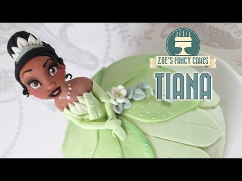 Disney Princess Tiana doll cake The Princess and the Frog