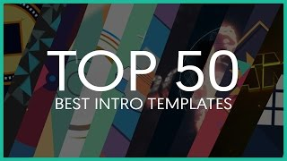 Top 50 Best Intro Templates (Sony Vegas, After Effects, Cinema 4D)
