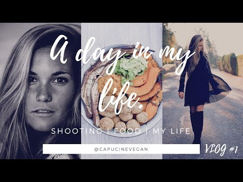 A day in my life VLOG #1 SHOOTING - FOOD - MY LIFE