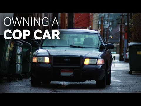 What It's Like To Own An Old Cop Car