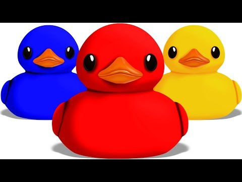 Duck Colors | Video for Children and Babies | Colors for Kids