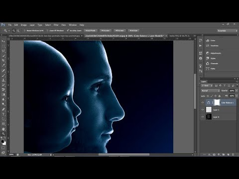 How to Create Fantasy Special Light Effect for Portraits | Photoshop Tutorial