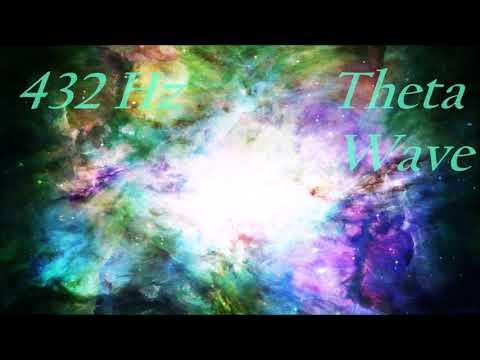 Miracle Tone 432 Hz Healing Meditation Music w/ Theta Binaural Beats