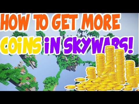How To Get More Coins And Souls In Skywars | Minecraft Hypixel Server