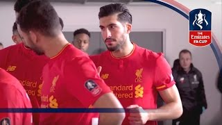 Exclusive Tunnel Cam - Liverpool v Plymouth (Emirates FA Cup 2016/17) R3 | Inside Access