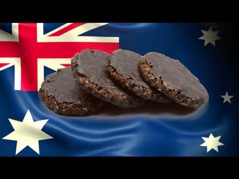 ANZAC double choco biscuits Australian food recipe #2 澳洲ANZAC雙巧克力餅乾