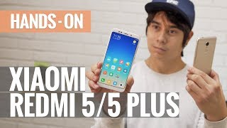 Xiaomi Redmi 5 and Redmi 5 Plus hands-on review
