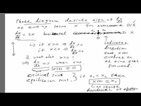 Phase diagrams and bifurcations