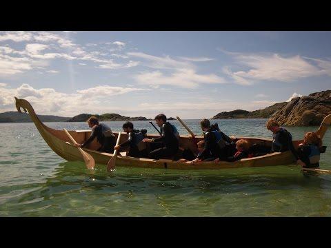 8-person Viking Longship - Timelapse of build