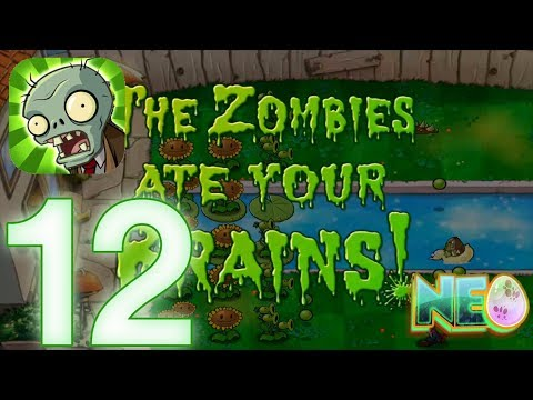 Plants vs. Zombies: Gameplay Walkthrough Part 12 - LEVEL 3.8 COMPLETED (iOS Android)