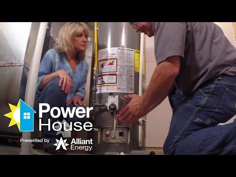 Hot water heater installation process