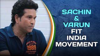 Sachin Tendulkar & Varun Dhawan talk about Fit India Movement   #SportPlayingNation