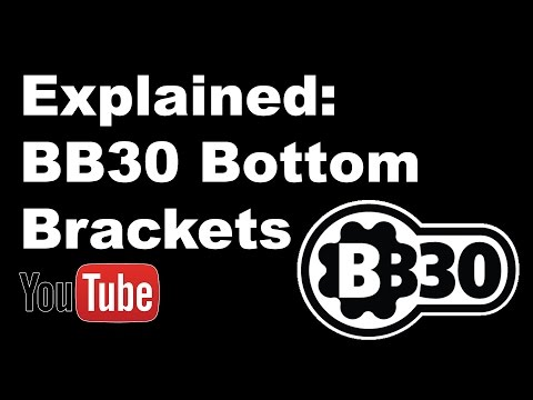 BB30 Bottom Bracket Explained, Creaking, Pros, Cons and Fitting Shimano Cranks by Hambini