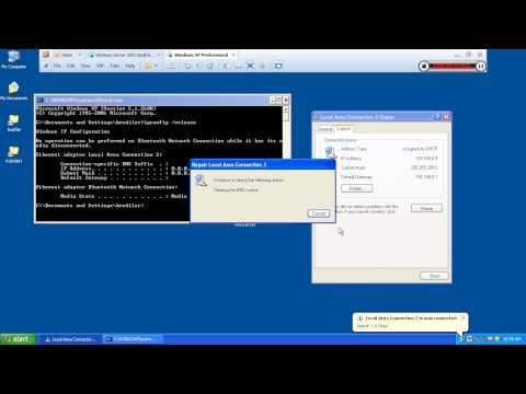 How to installation and Settings  Server 2003 DHCP Service