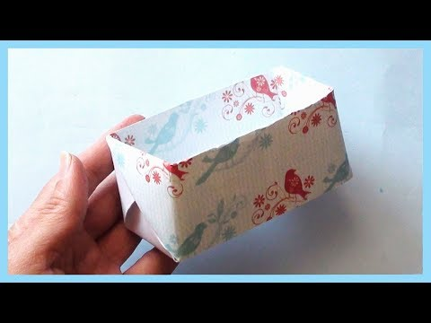 Origami Pen & Pencil Holder | How to make Paper Box