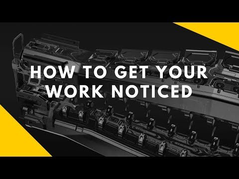How To Get Your Work Noticed with Alex Senechal