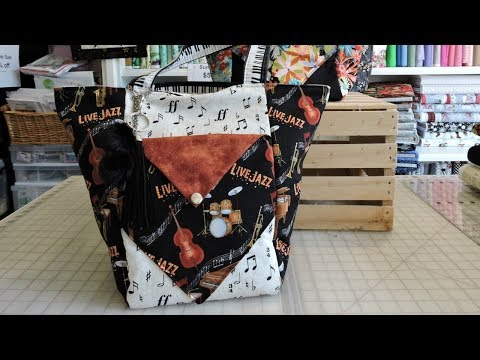 Quick and Easy Reversible Fat Quarter Bag