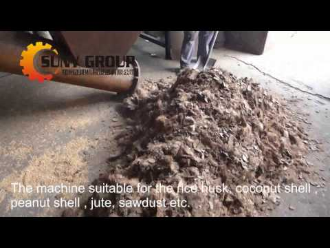 How Charcoal is Made from Coconut Shell/Rice Husk/Sawdust_Continuous Carbonization Furnace