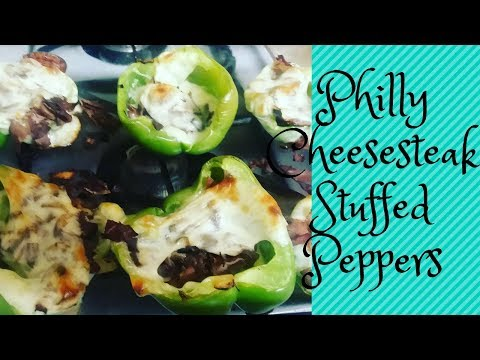 IN THE KITCHEN | EASY PHILLY CHEESESTEAK STUFFED PEPPERS