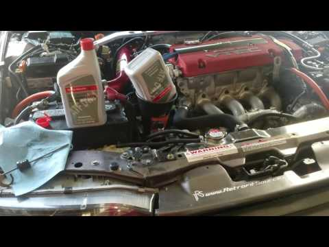 How to drain and fill automatic transmission fluid in your Honda Accord  90 91 92 93
