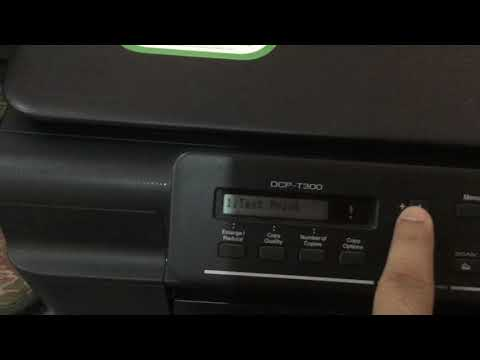 How To Fix Blurred Prints! Cleaning The Printer ! Brothers DCP-T300!easy Tips For Blurred Prints.