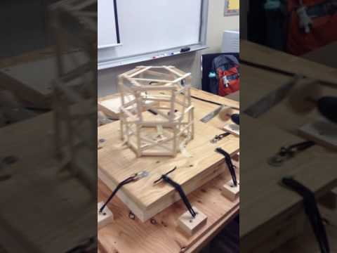 Popsicle Stick Earthquake Test