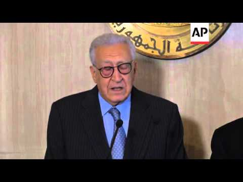 UN-Arab League envoy Brahimi says there is no miracle solution to ending Syrian conflict