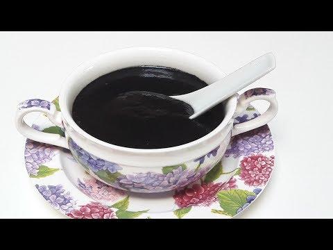 Black Sesame Sweet Soup Dessert (芝麻糊)