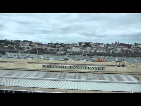 Condor Liberation Ferry Poole   England to St Helier Jersey Part 3  October 2015