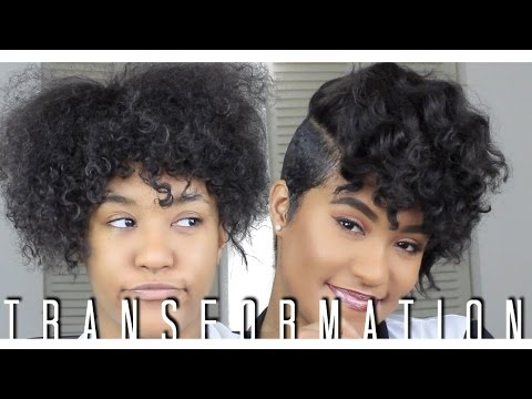 Get Ready With Me | Curly Pixie | AirBrush Makeup
