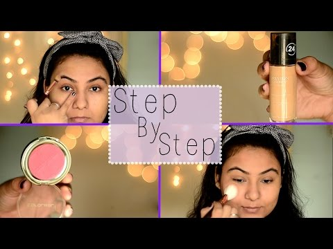 Steps of applying makeup/ How to apply makeup Indian {Delhi fashion blogger}