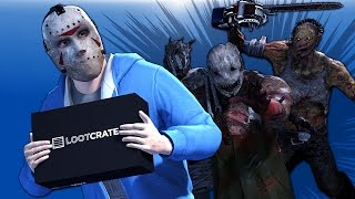 Delirious Animated Lootcrate Delivery with Dbdl Monsters Sfm By Callegos