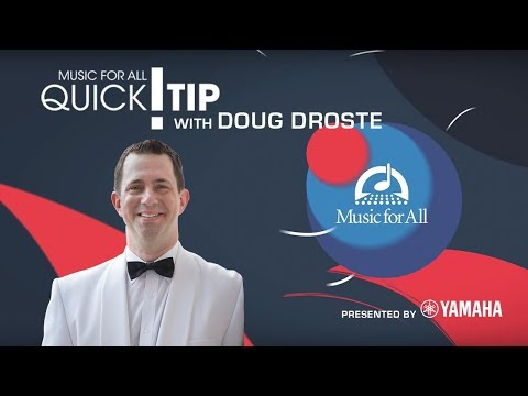 Quick Tip with Doug Droste