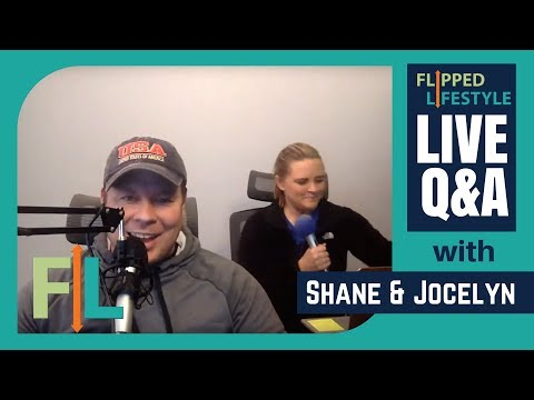 Flipped Lifestyle Online Business Q&A with Shane & Jocelyn Sams (02-16-2018)