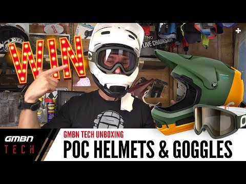 POC Coron Air Spin Helmets + Ora Clarity Goggles | GMBN Unboxing
