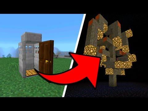WORKING TIME MACHINE in Minecraft Pocket Edition