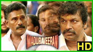 Tamil Movies 2018 | Madura Veeran Movie Scenes | Shanmuga Pandian attacked | Bala Saravanan