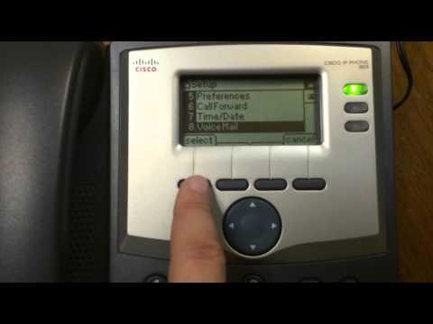 Reconfigure Voicemail Button on Cisco SPA303