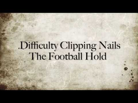 How to Clip an Uncooperative Dog's Nails: The Football Hold