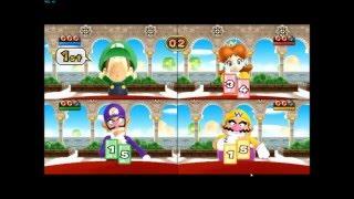 Mario Party 9 - Baby Luigi over Toad