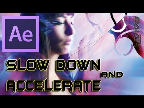 How To Speed Up and Slow Down Video Clips In After Effects CS6